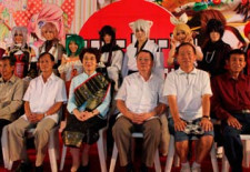 Japanese Ambassador at Laos Cosplay and Manga Festival