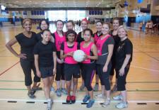 Lao Mahouts Netball Team