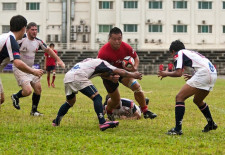 Laos Wins Rugby