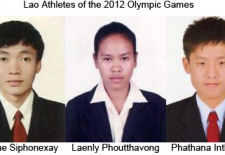 Lao Olympic Athletes 2012