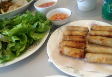 Spring Rolls at The Team Room by Dao