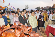 That Luang Festival Opening 2012