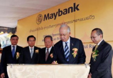 Maybank Opens First Branch in Laos