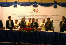 Automotive Parts Factory to be Established in Laos