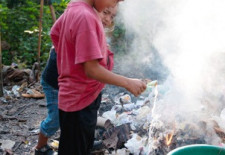 Dangerous Health Effects of Burning of Plastics and Waste