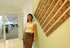 Lisa Harmony Working in Laos