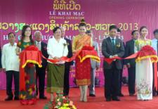 Lao-Viet-Trade-Fair-2013-ceremony