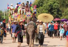 Xayaboury celebrates Elephant Festival
