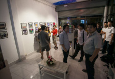 Gallery Hopping in Vientiane
