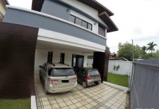 (859) Ultra-Modern House For Rent in Vientiane, Laos