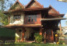 (866) Traditional Style Rental Home in Embassy Area (Vientiane, Laos)