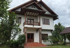 (875) Great Lao Style Rental House with Pool in Vientiane, Laos